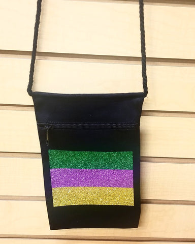 Mardi Gras canvas bag