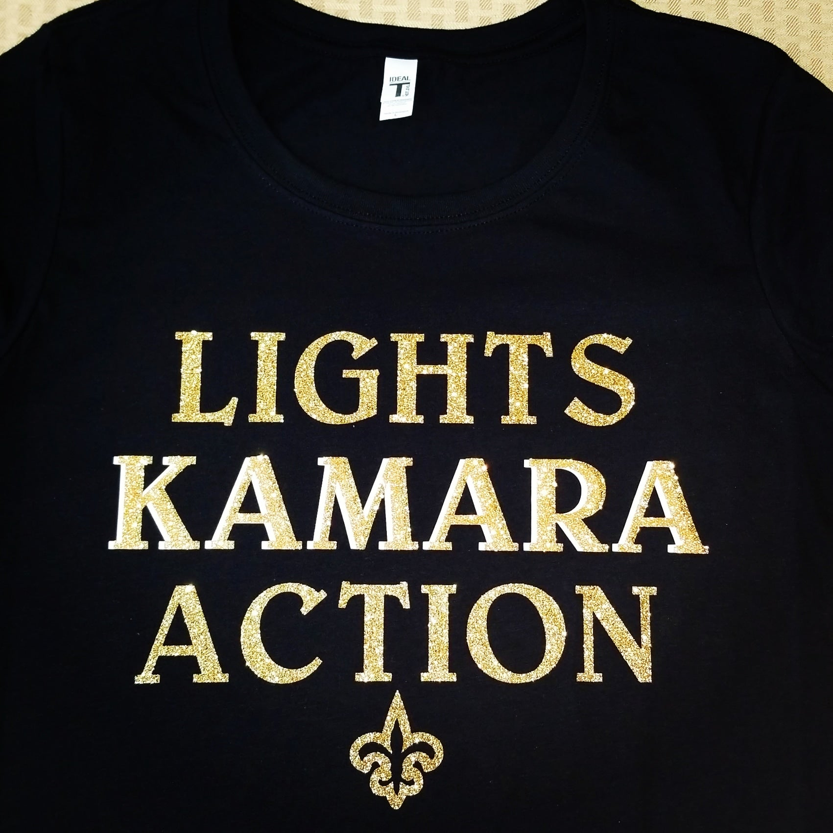 """Lights Kamara Action"" tshirt"