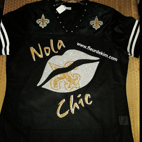 #Bling Jersey Nola chic black