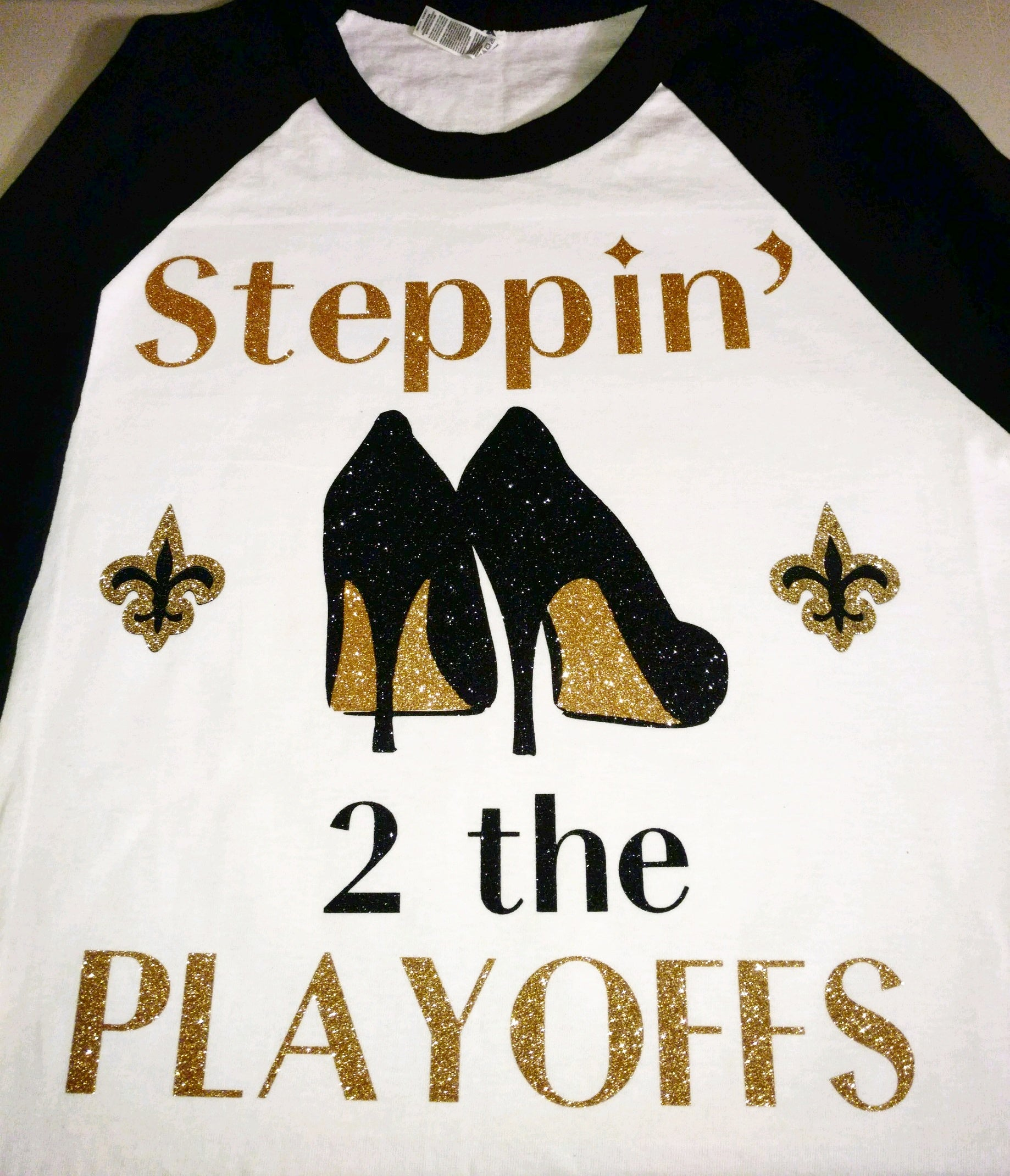 Heel Steppin' to the Playoffs baseball shirt
