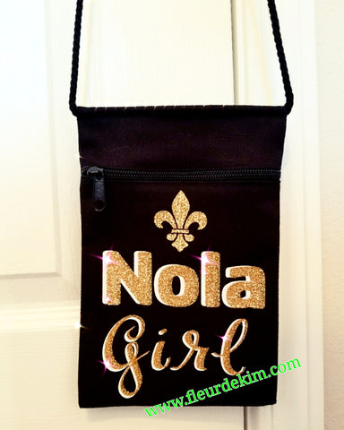 Canvas bag Nola Girl