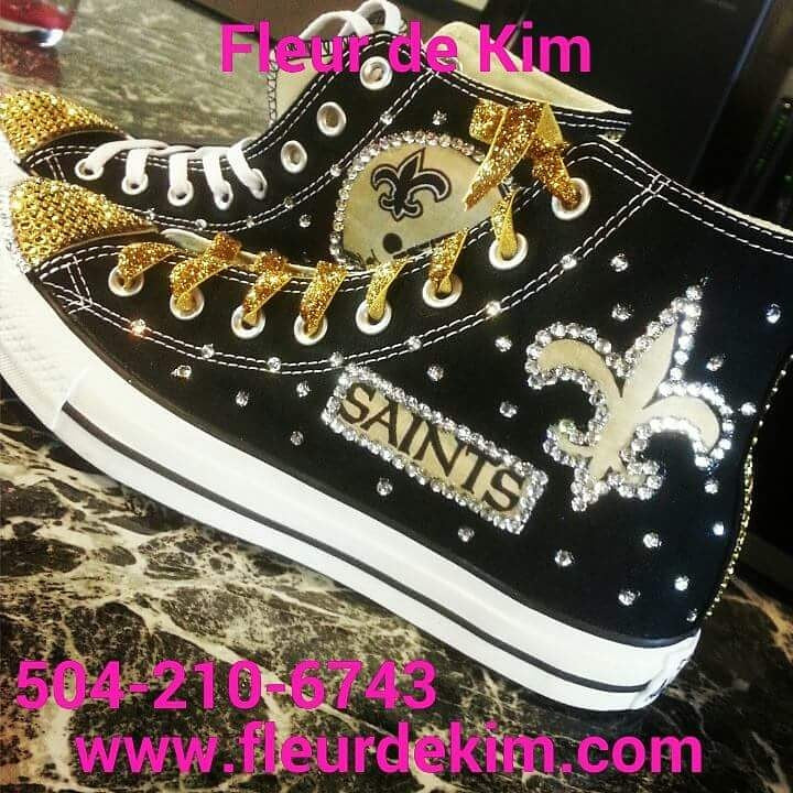 Bling Hi Tops tennnis