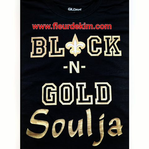 Black n gold Soulja