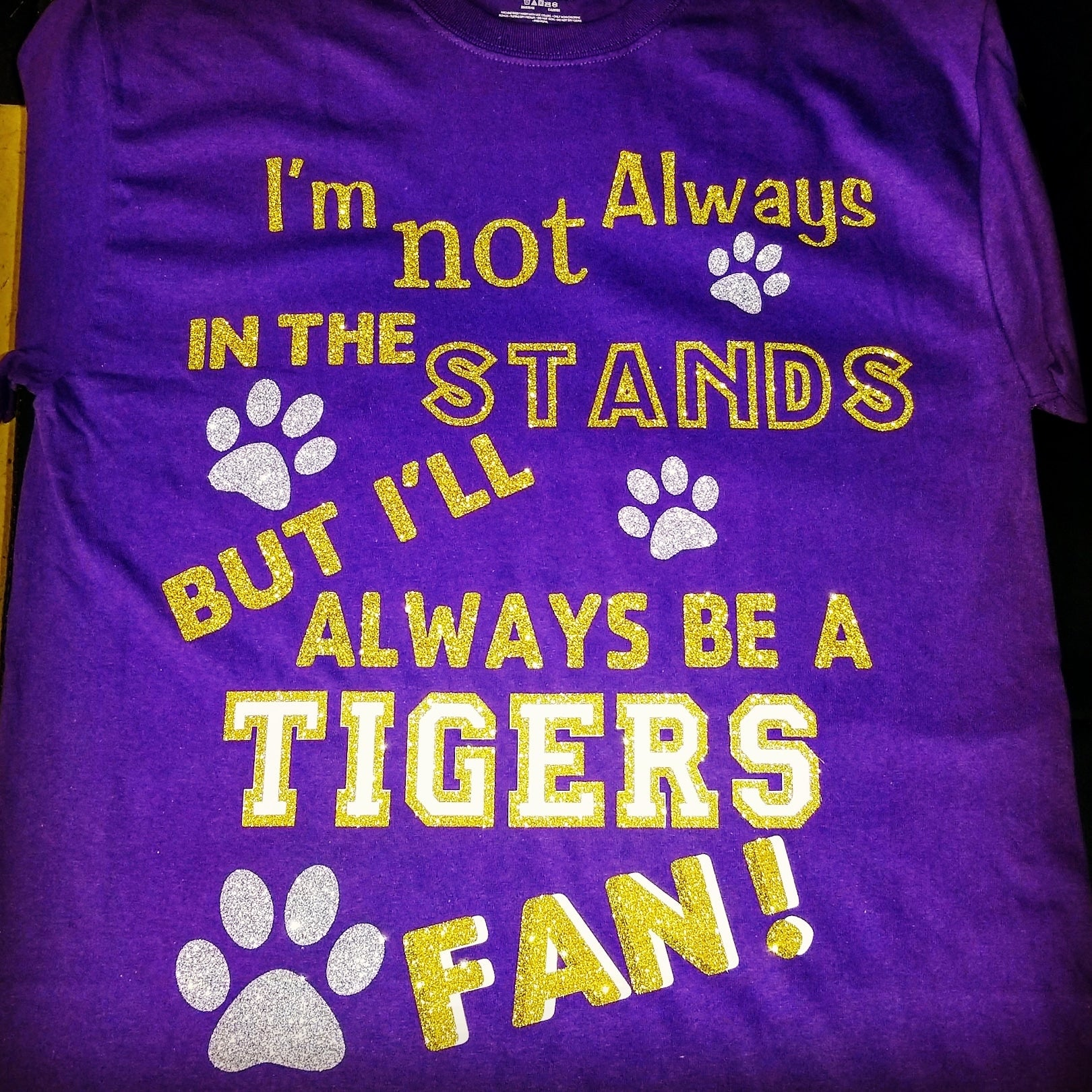 Tiger fan tshirt