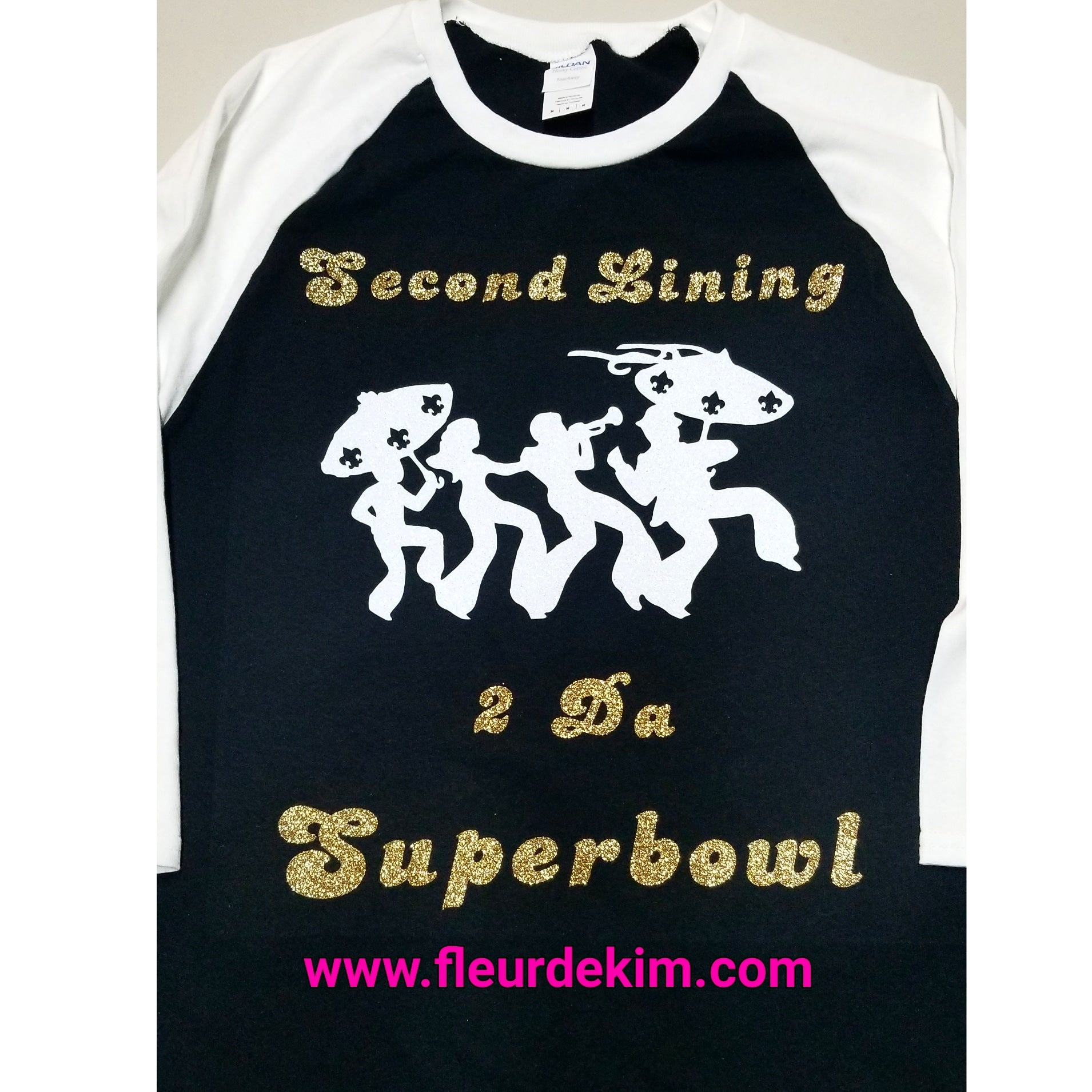 2nd lining to da Superbowl baseball shirt