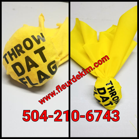 """Throw"" Dat Flag™ Novelty referee flag"