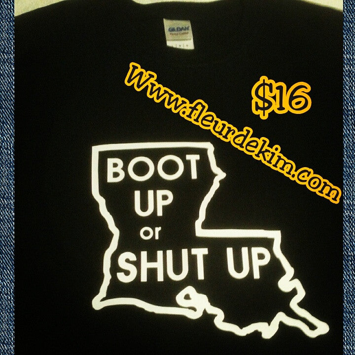 Boot Up tshirt