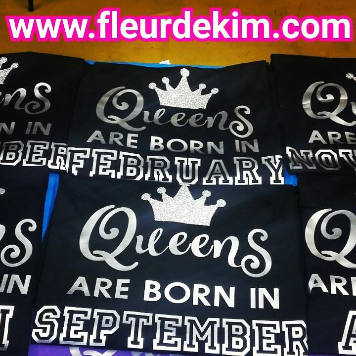 Birthday Queen Tshirt 2