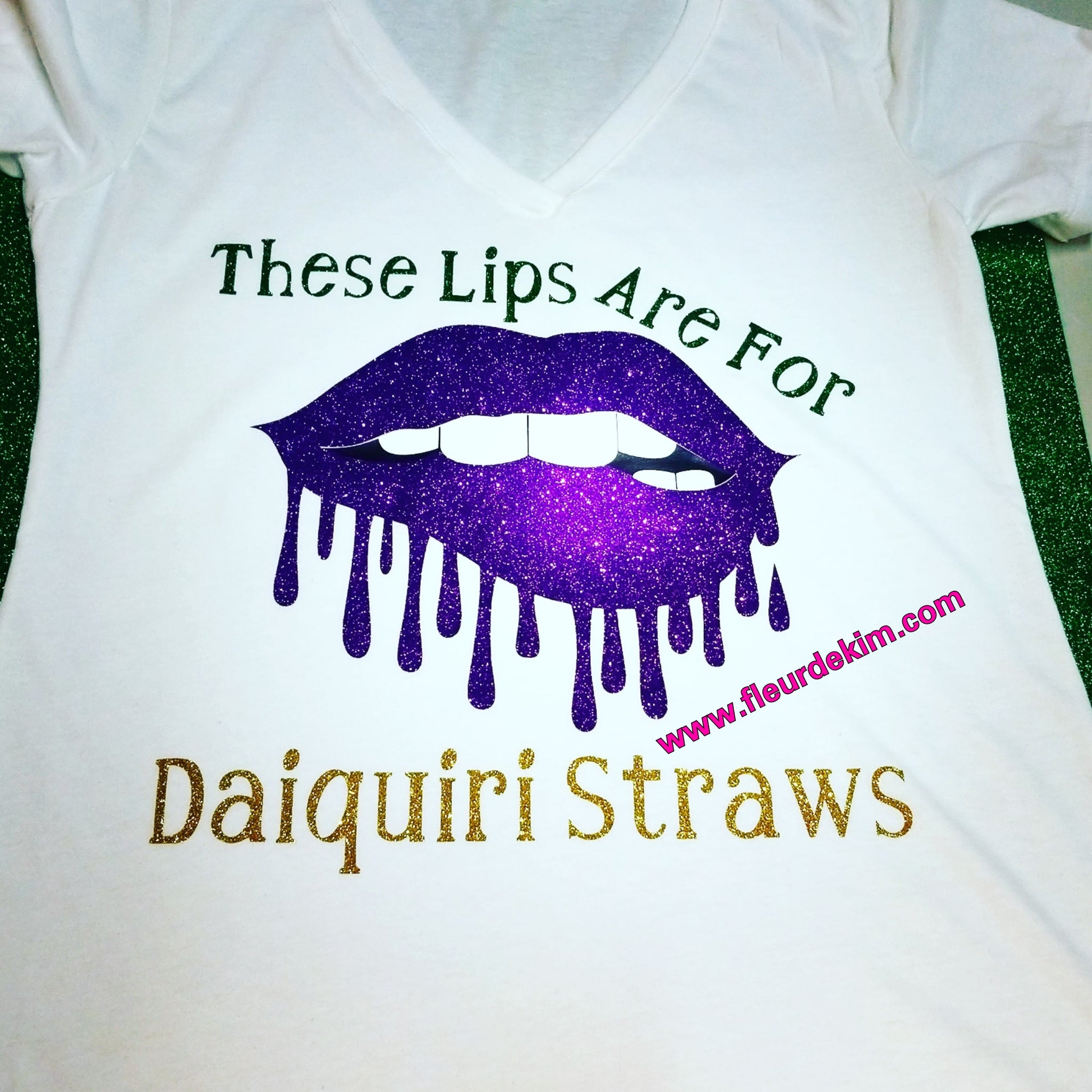 Daiquiri Mardi Gras lips
