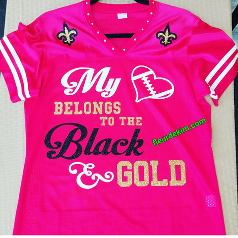 #bling jersey hot pink *new*
