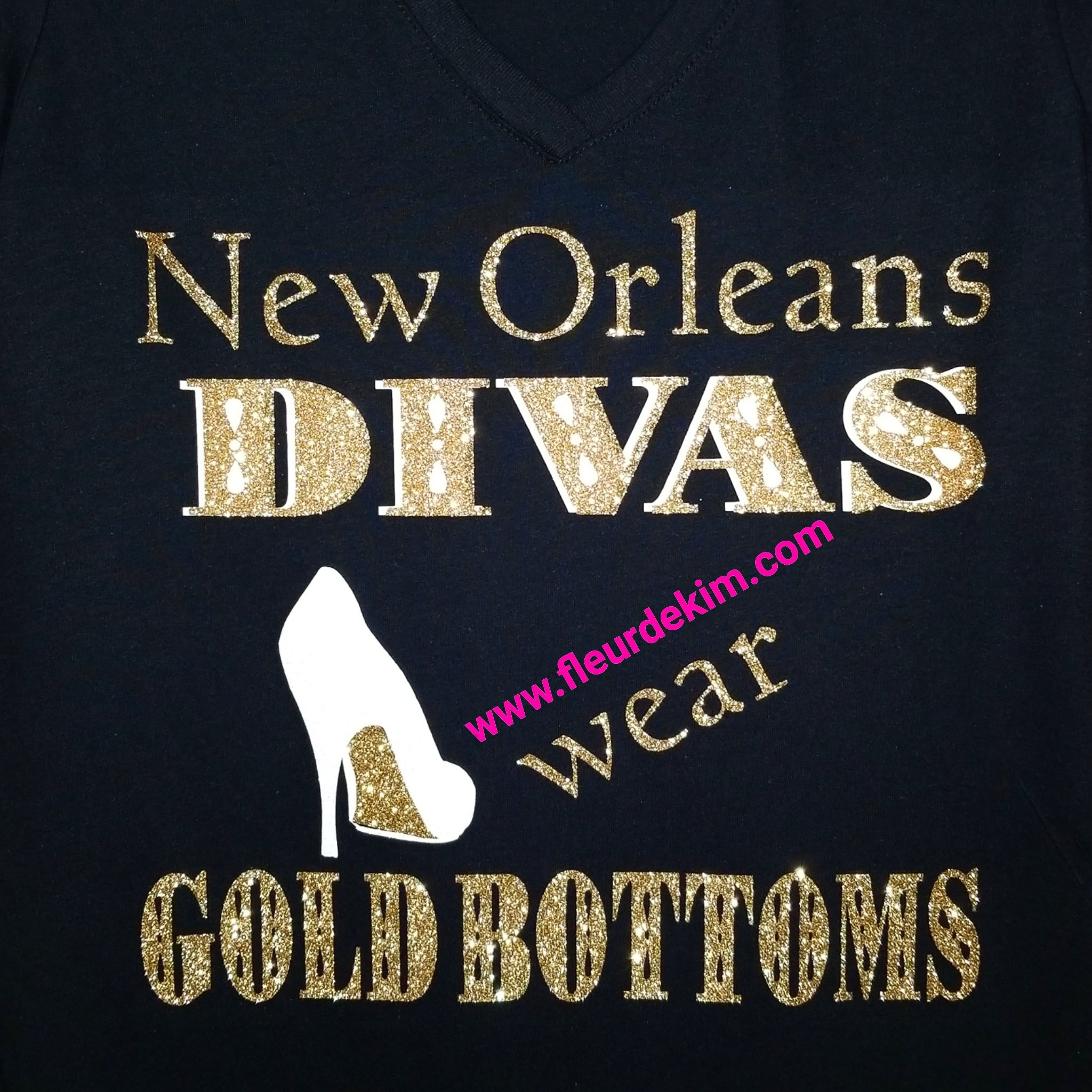 #Gold Bottoms  N.O. Diva tshirt