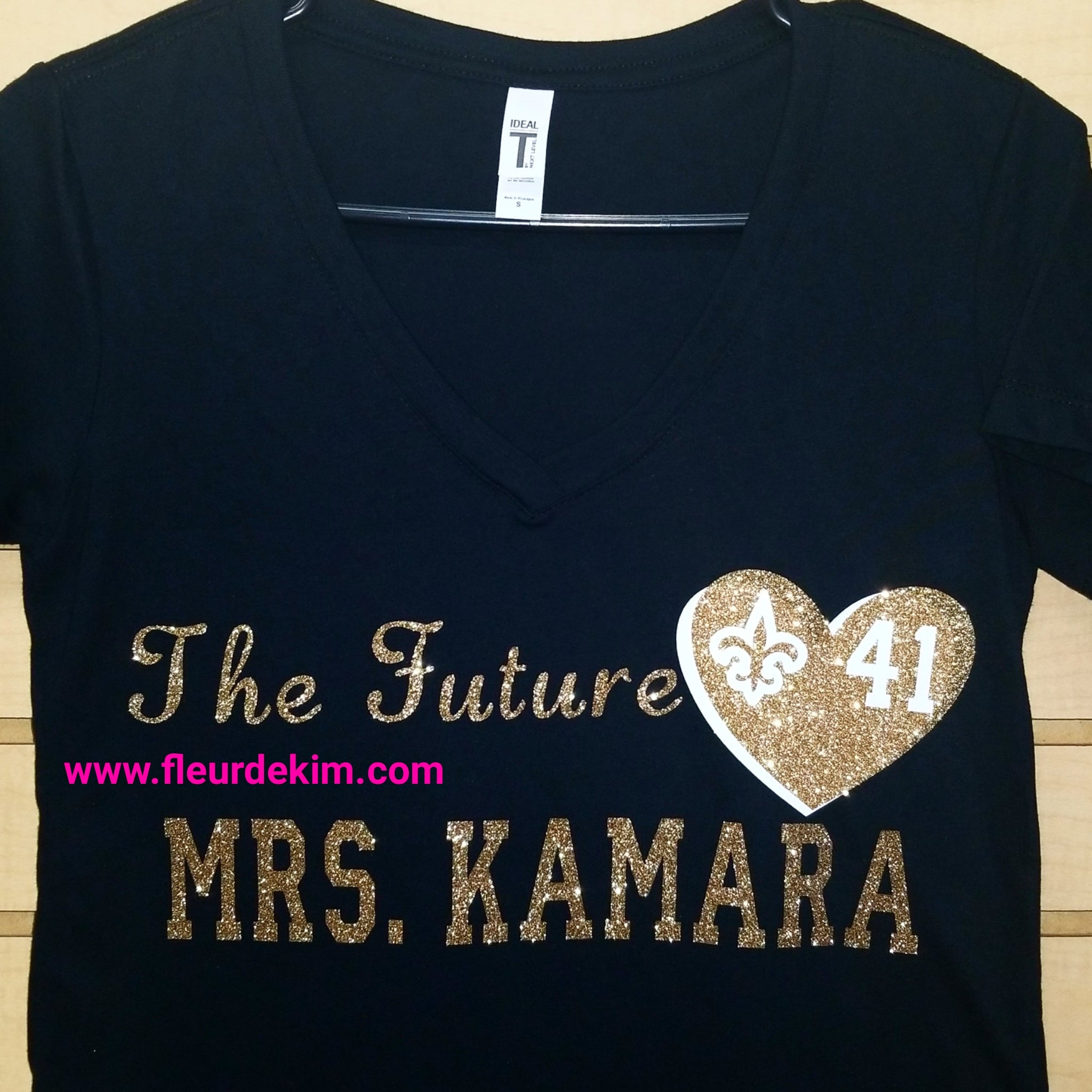 Future Mrs. Kamara tshirt