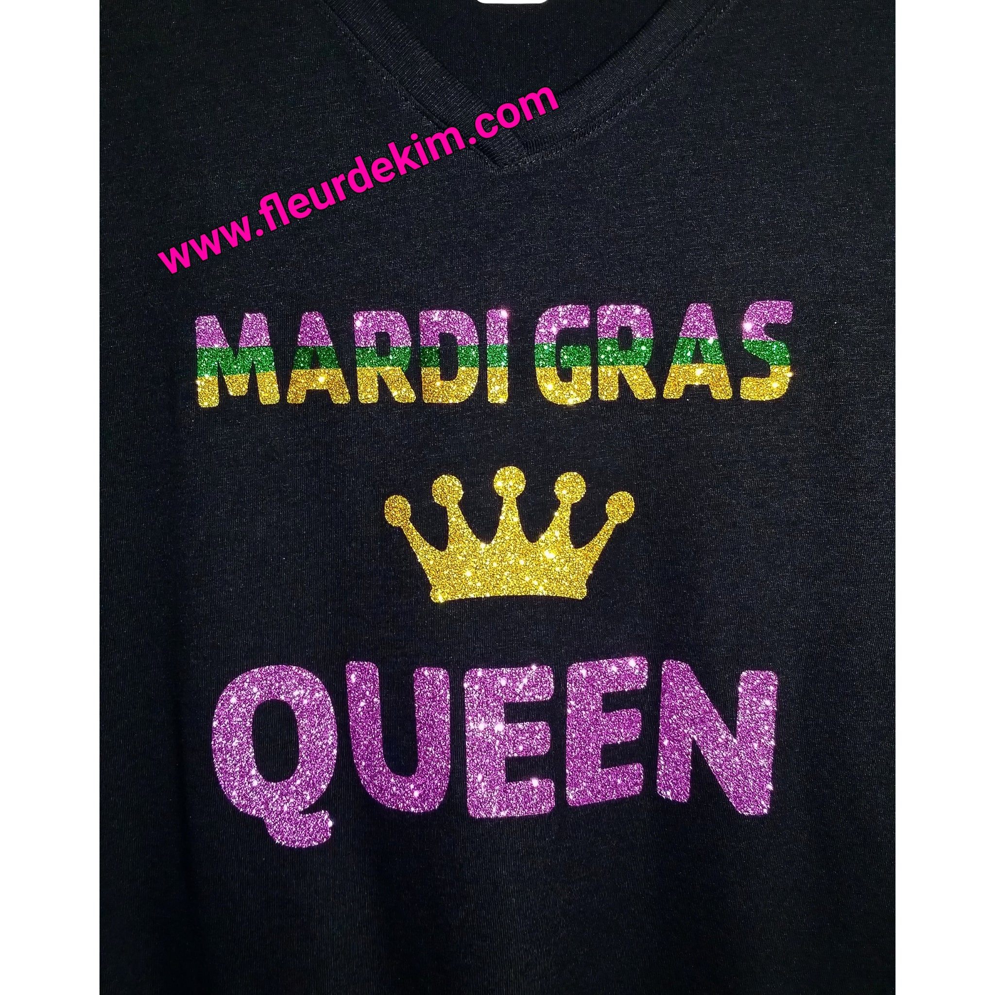 Mardi Gras Queen Black