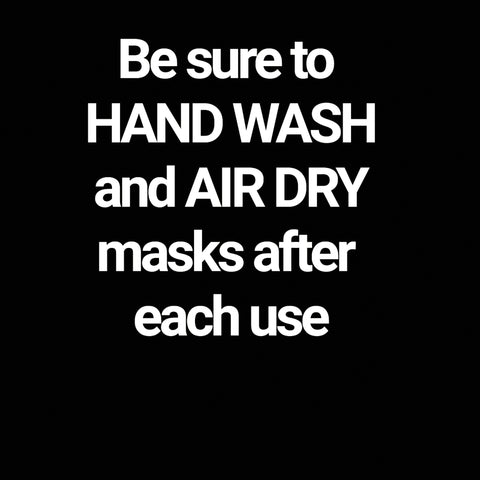 """Hand Wash and air dry is recommended"""