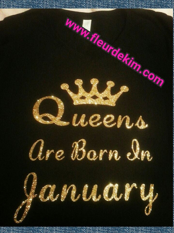 Birthday Queen shirt 5