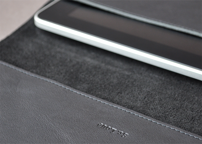 Enveloppe iPad HF - Atelier St. Loup - Luxury leather goods in Nantes