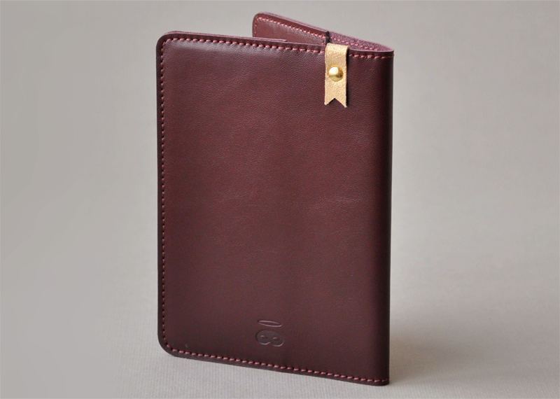 Protège passeport - Atelier St. Loup - Luxury leather goods in Nantes