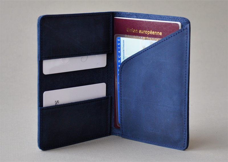 Porte-papiers - Atelier St. Loup - Luxury leather goods in Nantes