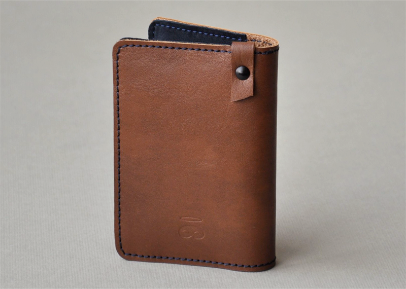 Porte-cartes H - Atelier St. Loup - Luxury leather goods in Nantes