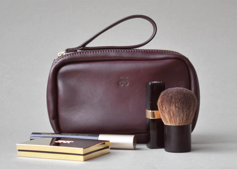 Mini trousse - Atelier St. Loup - Luxury leather goods in Nantes