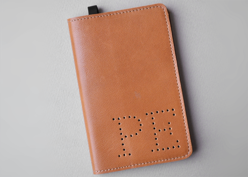 Couvre-Moleskine taille S HF - Atelier St. Loup - Luxury leather goods in Nantes