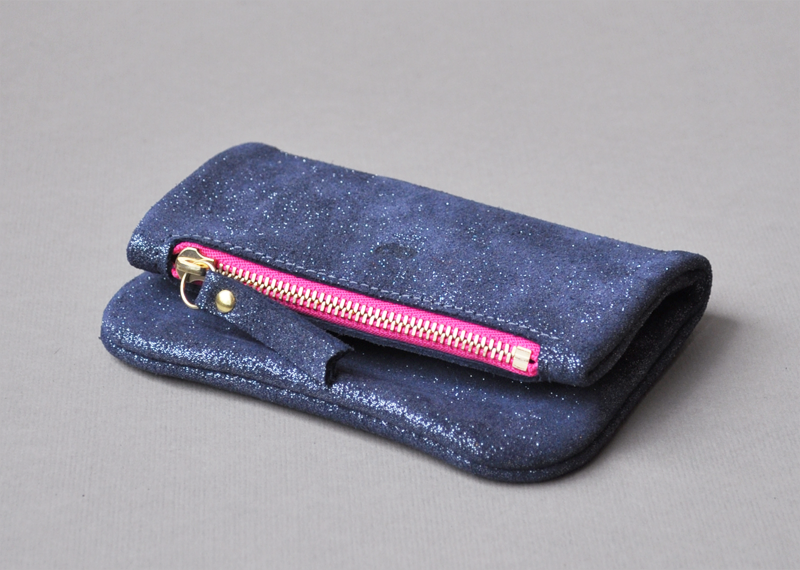 Pochette pliée 10cm - Atelier St. Loup - Luxury leather goods in Nantes