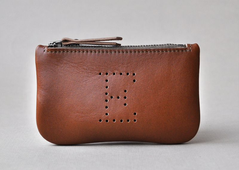 Porte-monnaie H - Atelier St. Loup - Luxury leather goods in Nantes