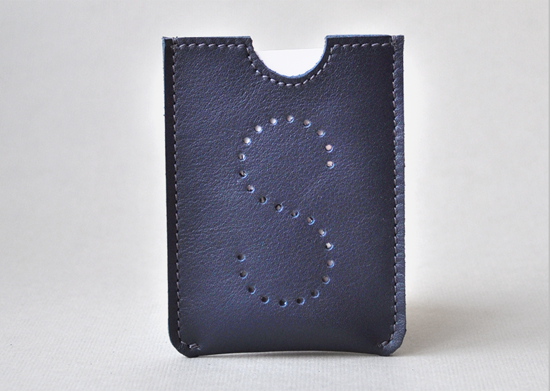 Etui cartes slim HF - Atelier St. Loup - Luxury leather goods in Nantes