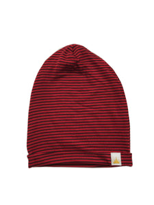 Red Black Stripe Slouchy
