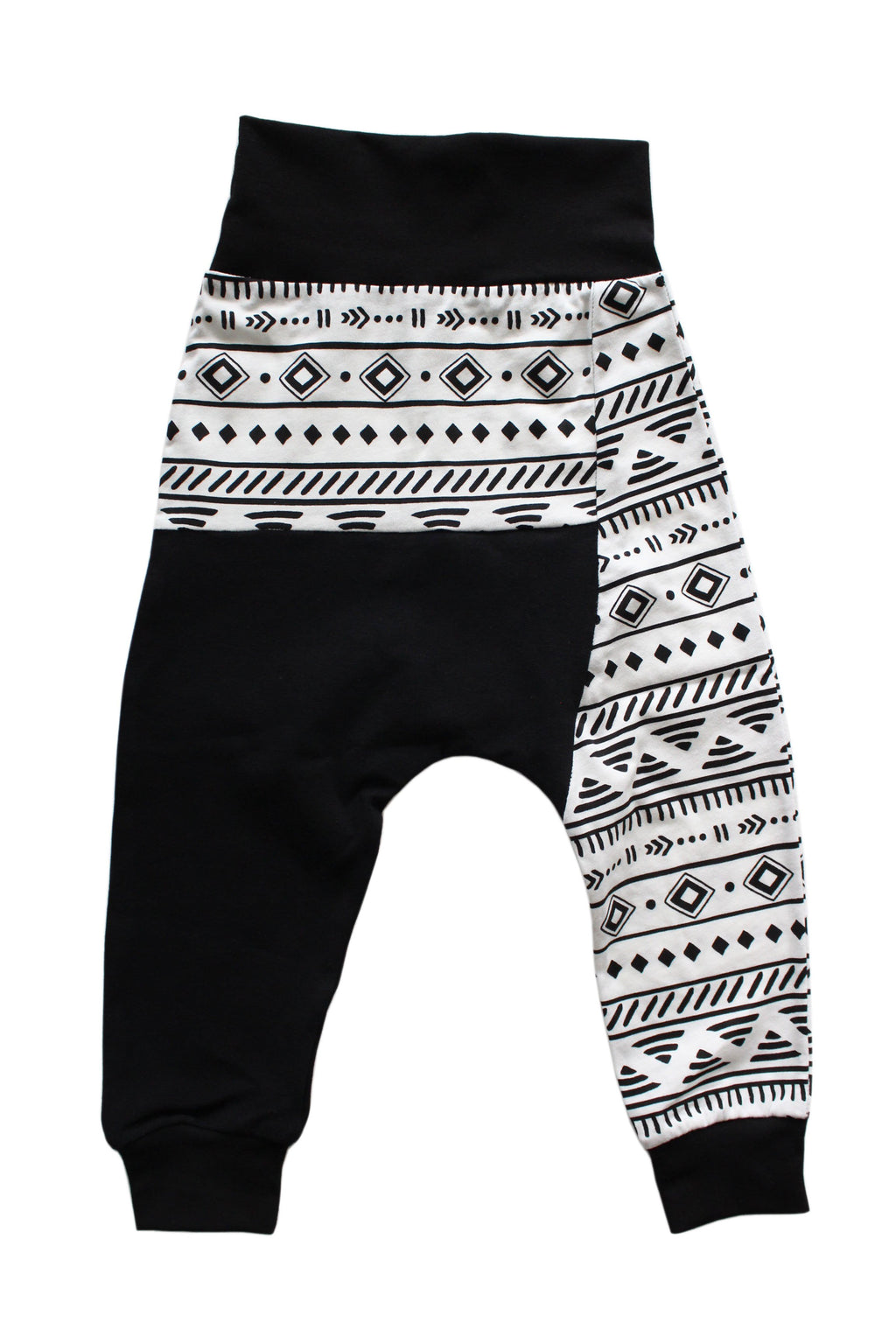 Two Tone Harems - Raven Black Tribal