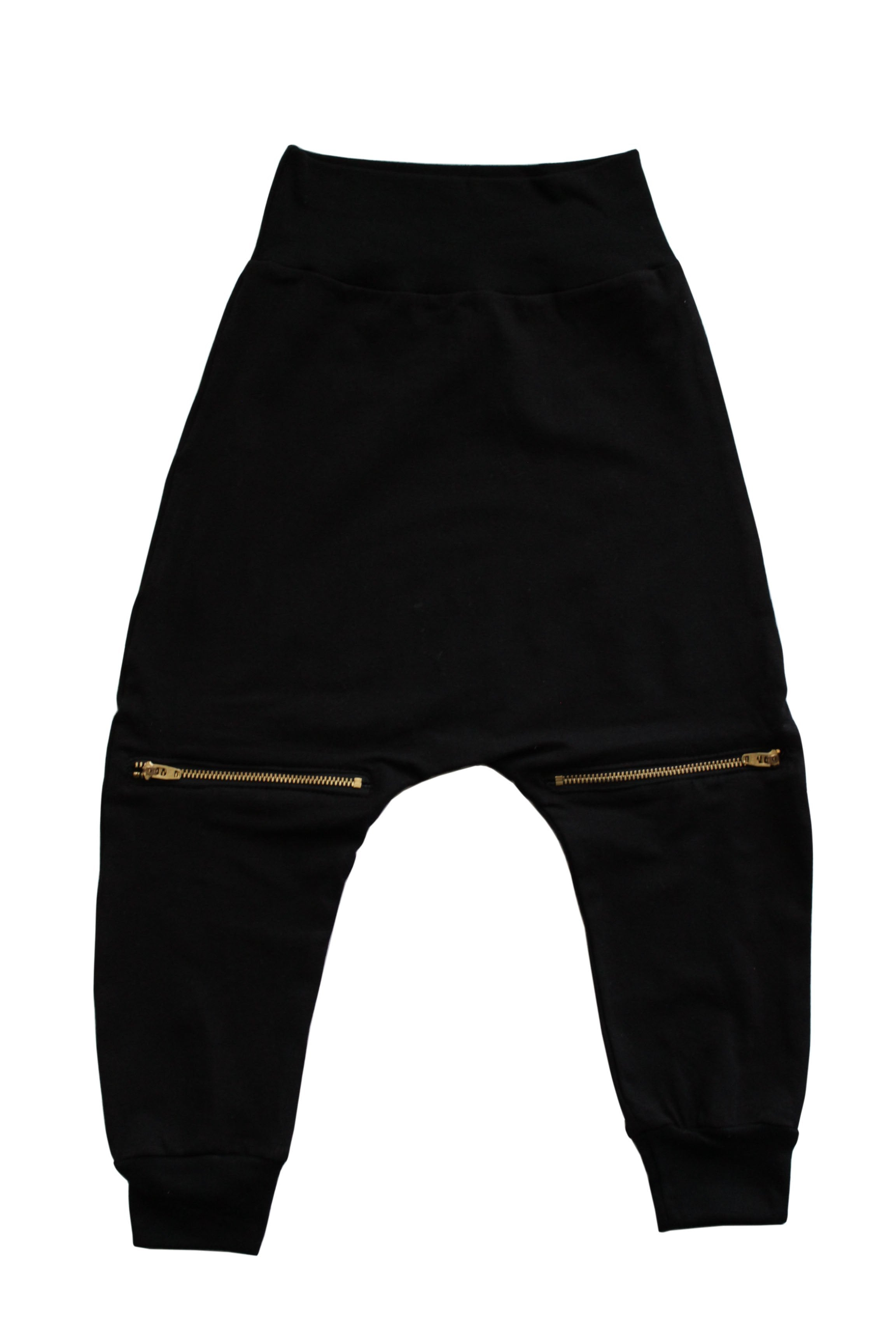 Zipper Harems - Black