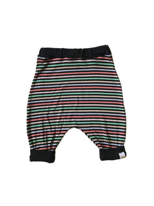Multi Stripe Harem Shorts