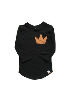 Crown Patch Long Sleeve Top