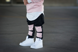 Baby Pink Panel Harems