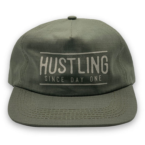 Hustling Since Day One Cotton Rip 5 Panel