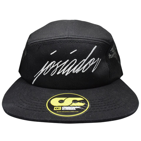 Josiador 5 Panel Camp Hat (black)