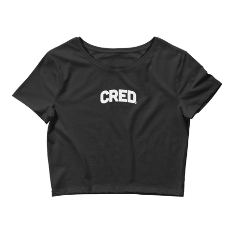 Cred. Women's Crop Tee