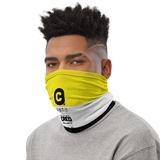 Black & Yellow Neck Gaiter