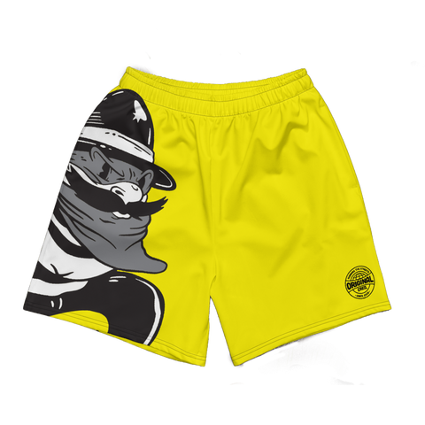 Outlaw Yellow Men's Long Shorts