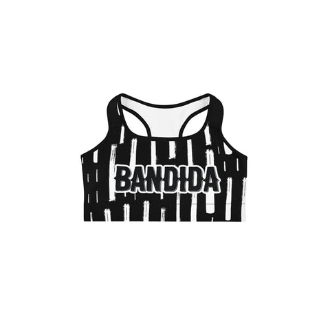 Bandida Black Sports bra