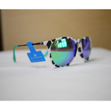 Northpark // Checkmate Charlie Polarized Sunglasses | Northpark // 偏光鏡片斑馬紋太陽眼鏡