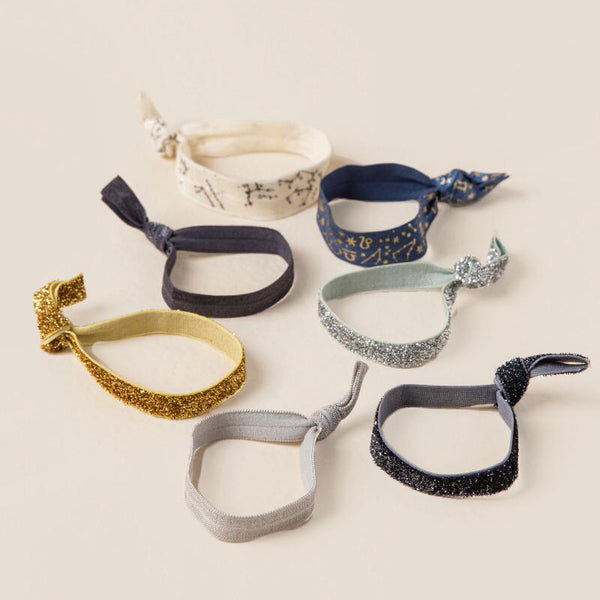 Astrology Hair Ties Set | 無痕髮圈・星空