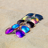 A Series // Infinite Midnight Polarized Sunglasses | A Series // 偏光鏡片復古飛行員藍黑色太陽眼鏡