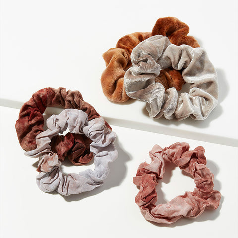 Hair Tie Dye Scrunchies・Rush | 紮染冬甩髮圈・Rush五個裝