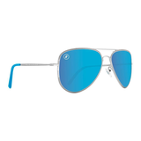 A Series // Blue Angel Polarized Sunglasses | A Series // 偏光鏡片復古飛行員藍色太陽眼鏡