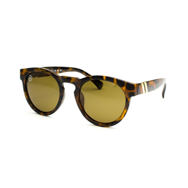 East Village // Carolina Honey Polarized Sunglasses | East Village // 偏光鏡片琥珀色簡約橢圓太陽眼鏡