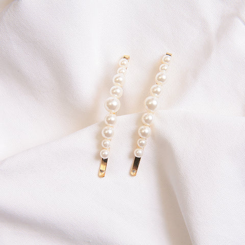Pearl Bobby Pins (2pc) | 珍珠髮夾 (2pc)