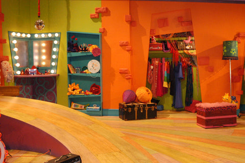 The Doodlebops clubhouse set