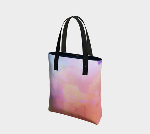 Watercolors Chic Tote