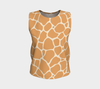 Butterscotch & Cream Zambia Relaxed Fit Tank Top (Long)